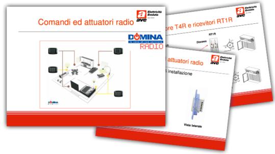Presentazioni Tecniche - Domina Radio