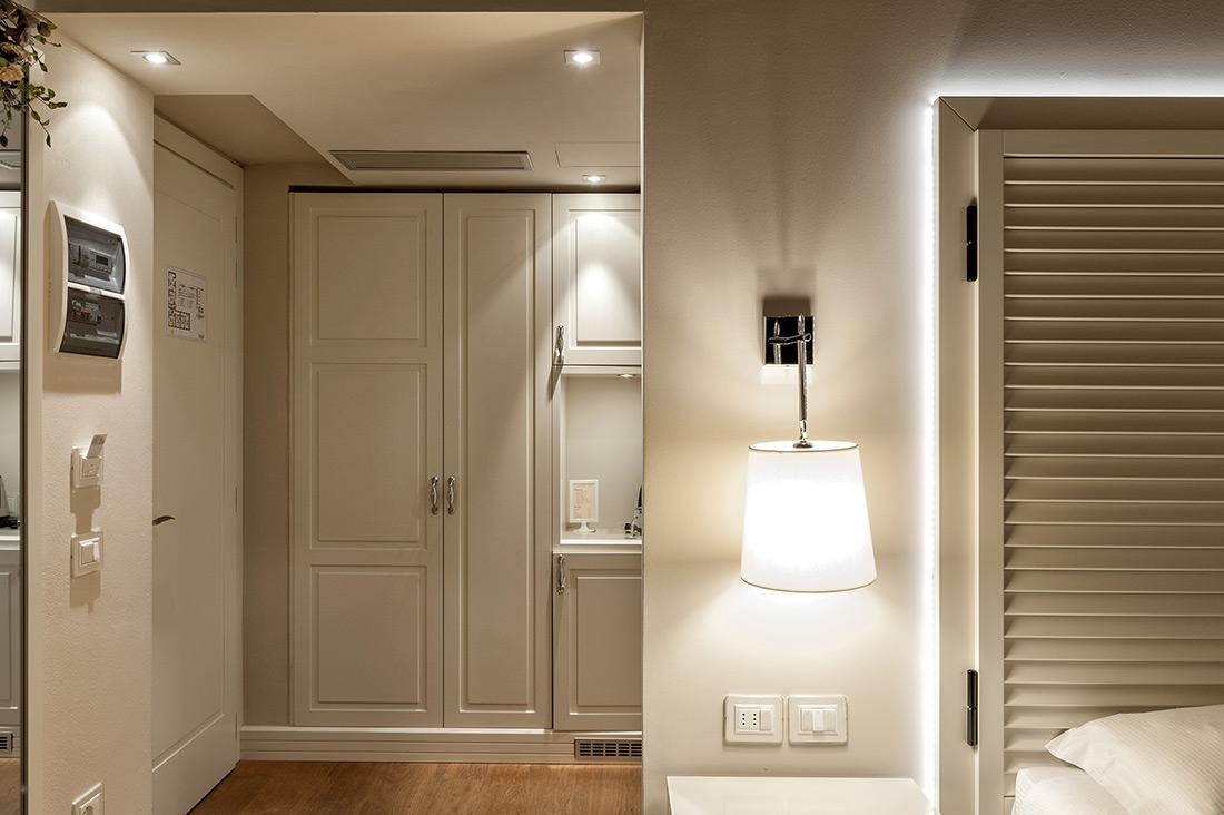 Punti luce AVE nelle camere dell'Agriturismo Villa Trovatore