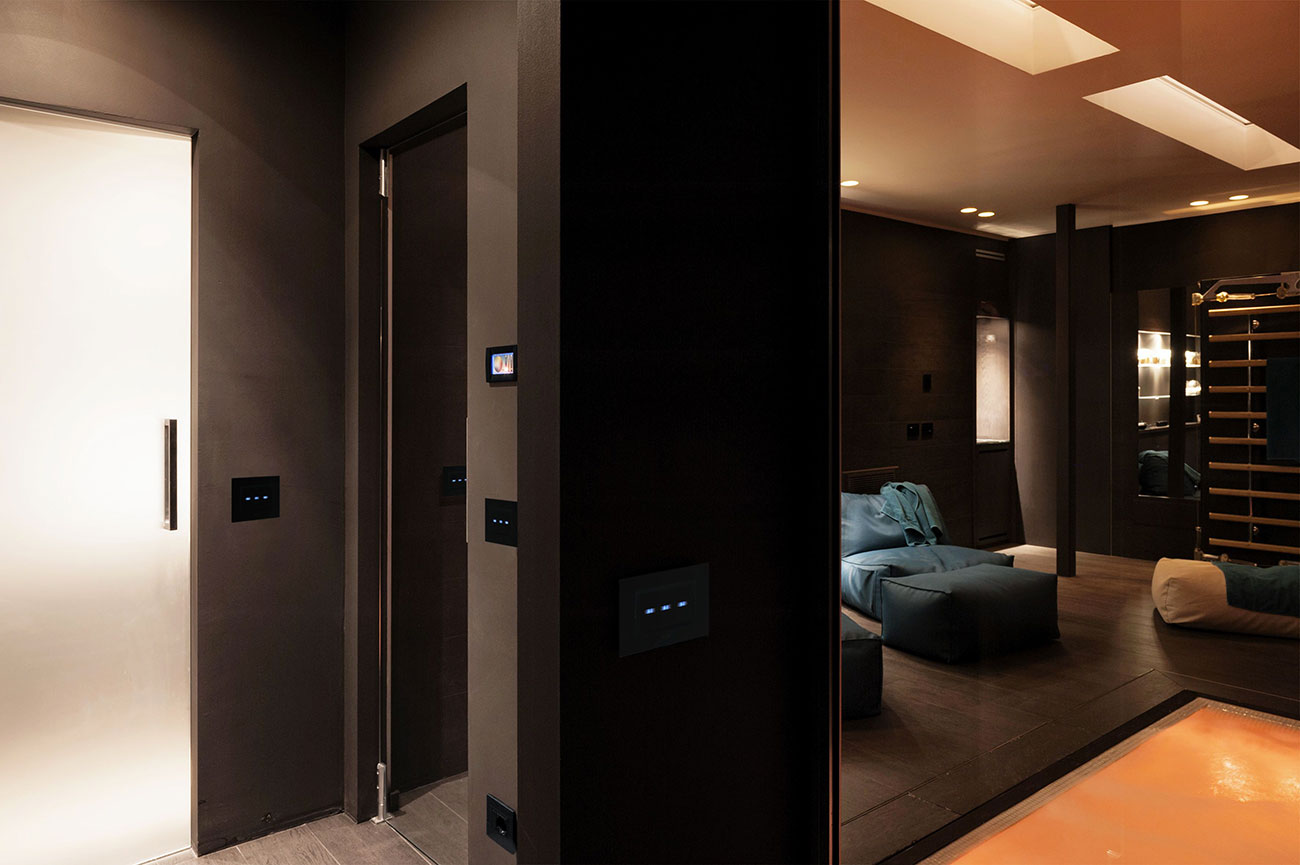 Punti luce AVE - Spa residenziale