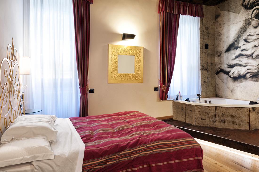Punti luce con placche di design AVE al Ripetta Palace di Roma