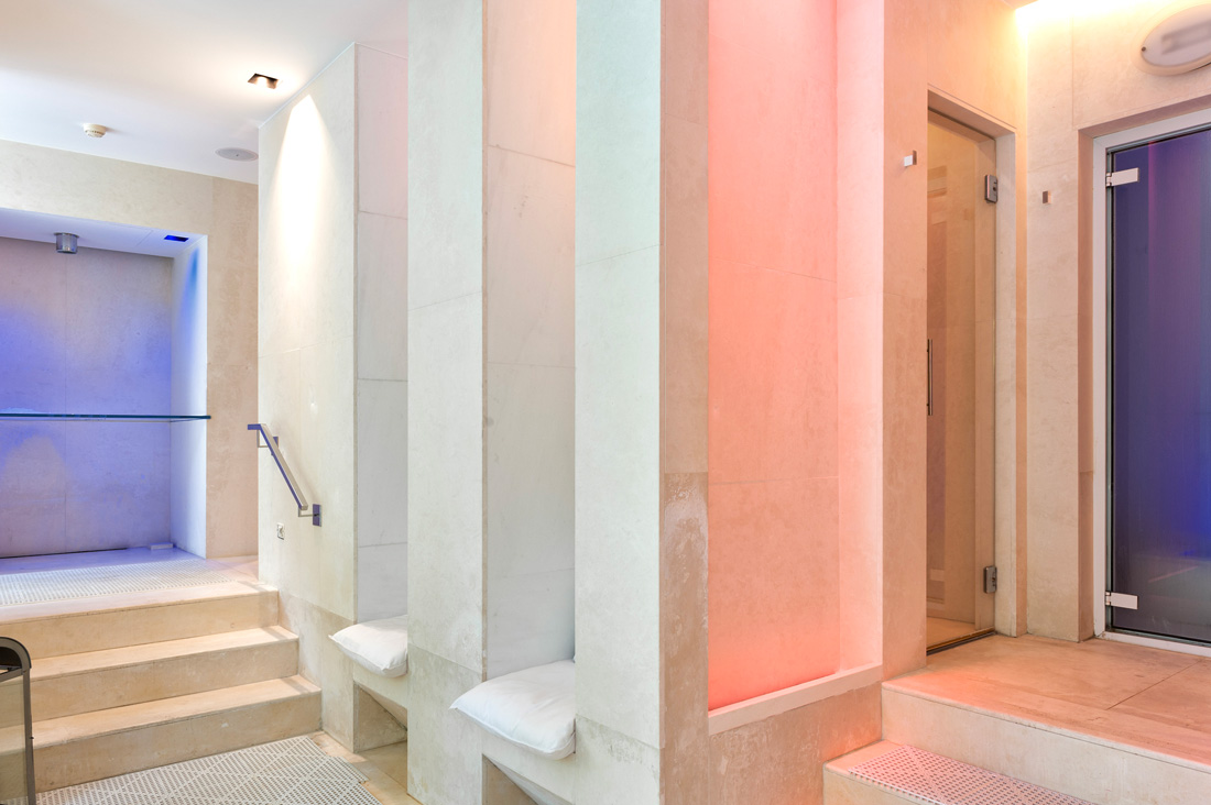 Referenza AVE Hotel 4 Stagioni - Area spa