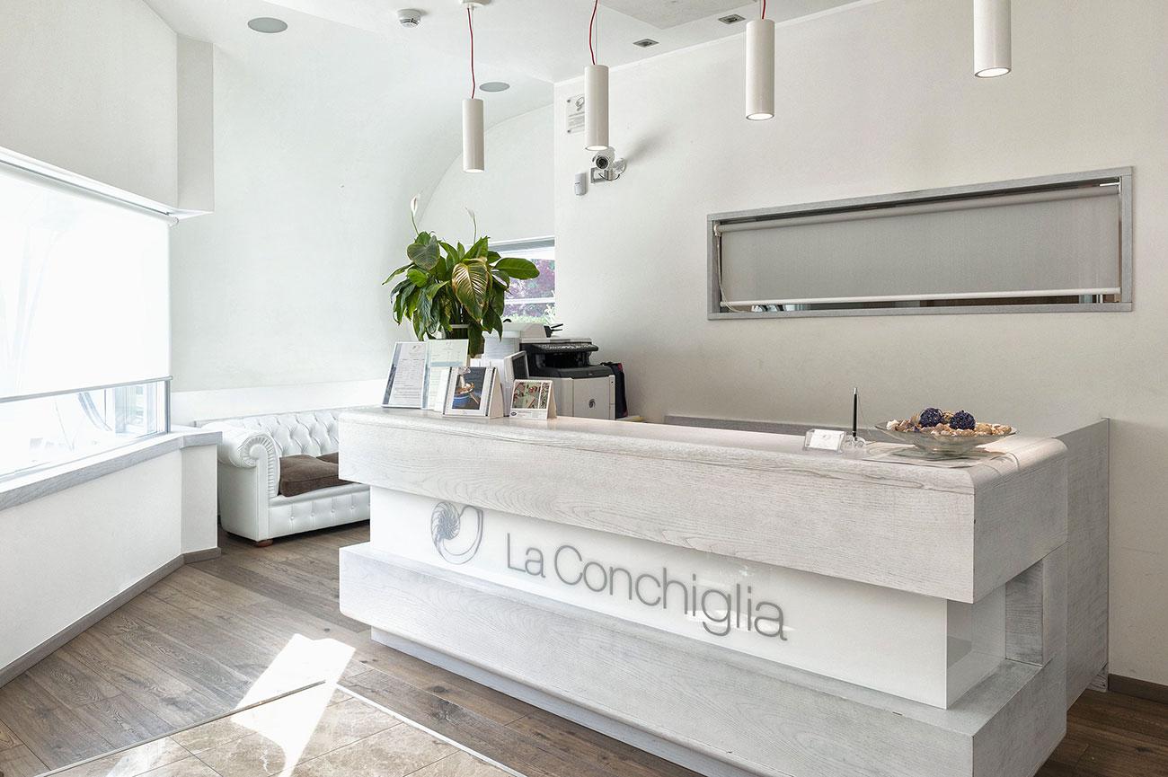 Referenza AVE Hotel Ristorante La Conchiglia - Hall