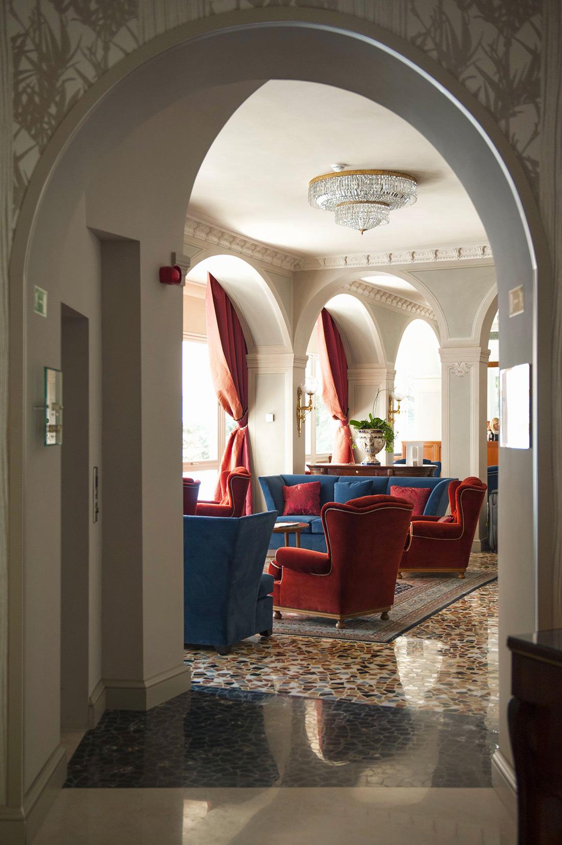 Referenza AVE Hotel Villa Flori - Area comune