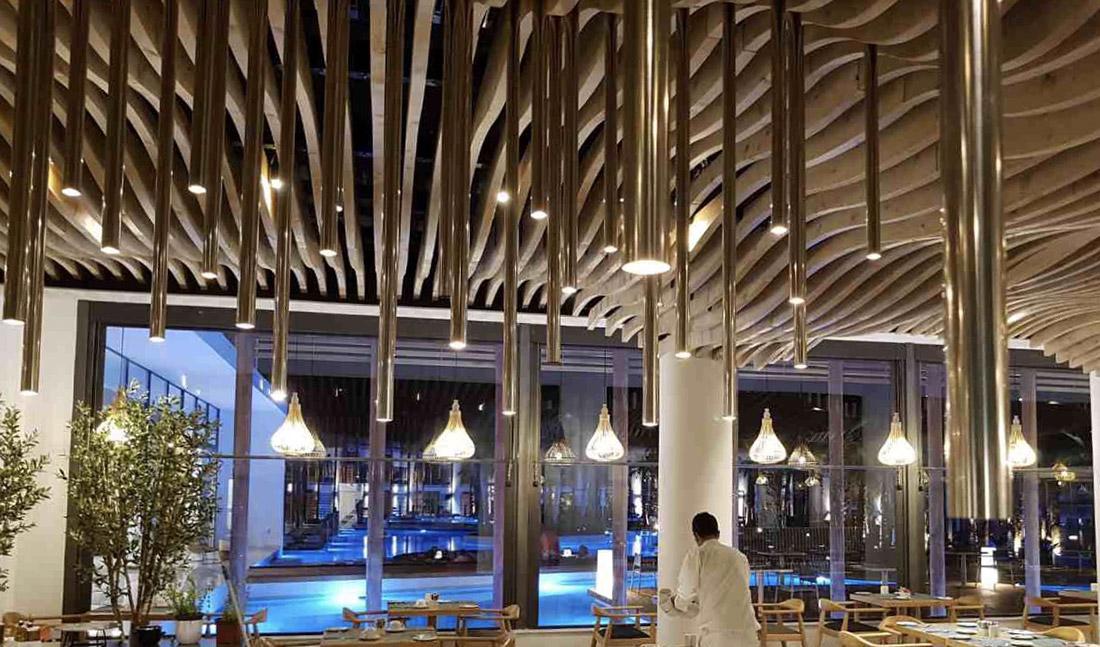 Referenza AVE per l'hotel - Zona ristorante