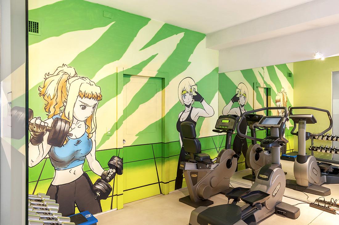 Referenza AVE Worldhotel Ripa Roma - Dettaglio area fitness