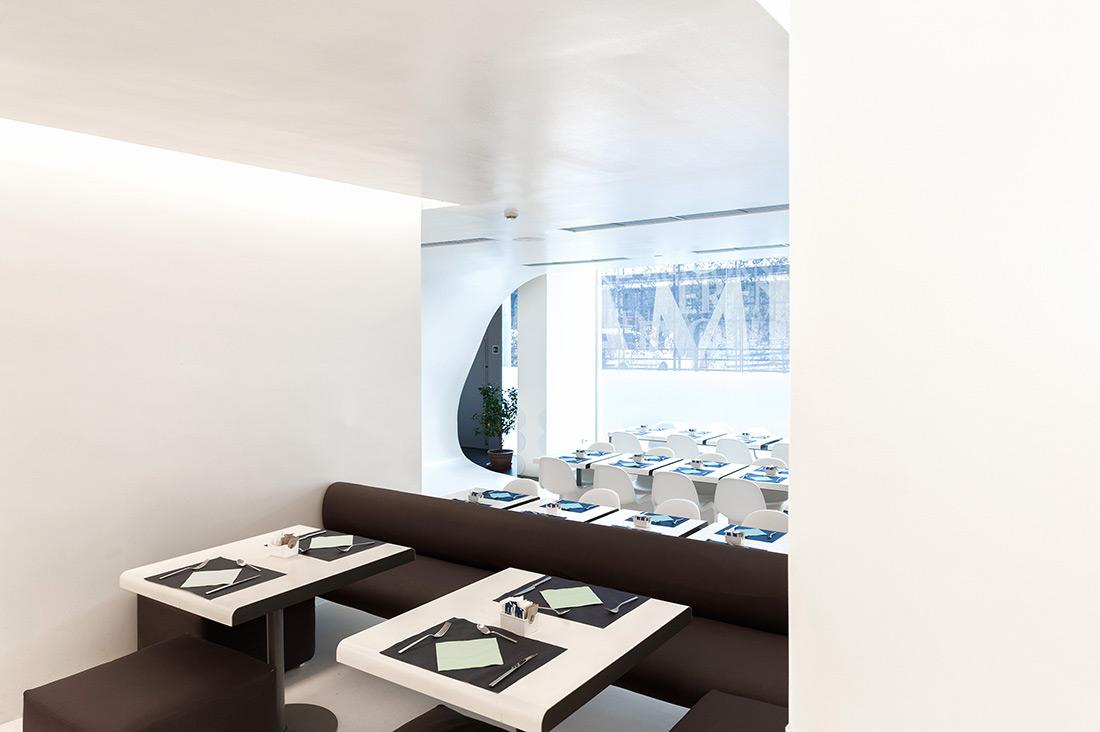 Referenza AVE al Worldhotel Ripa Roma - Sala ristorante