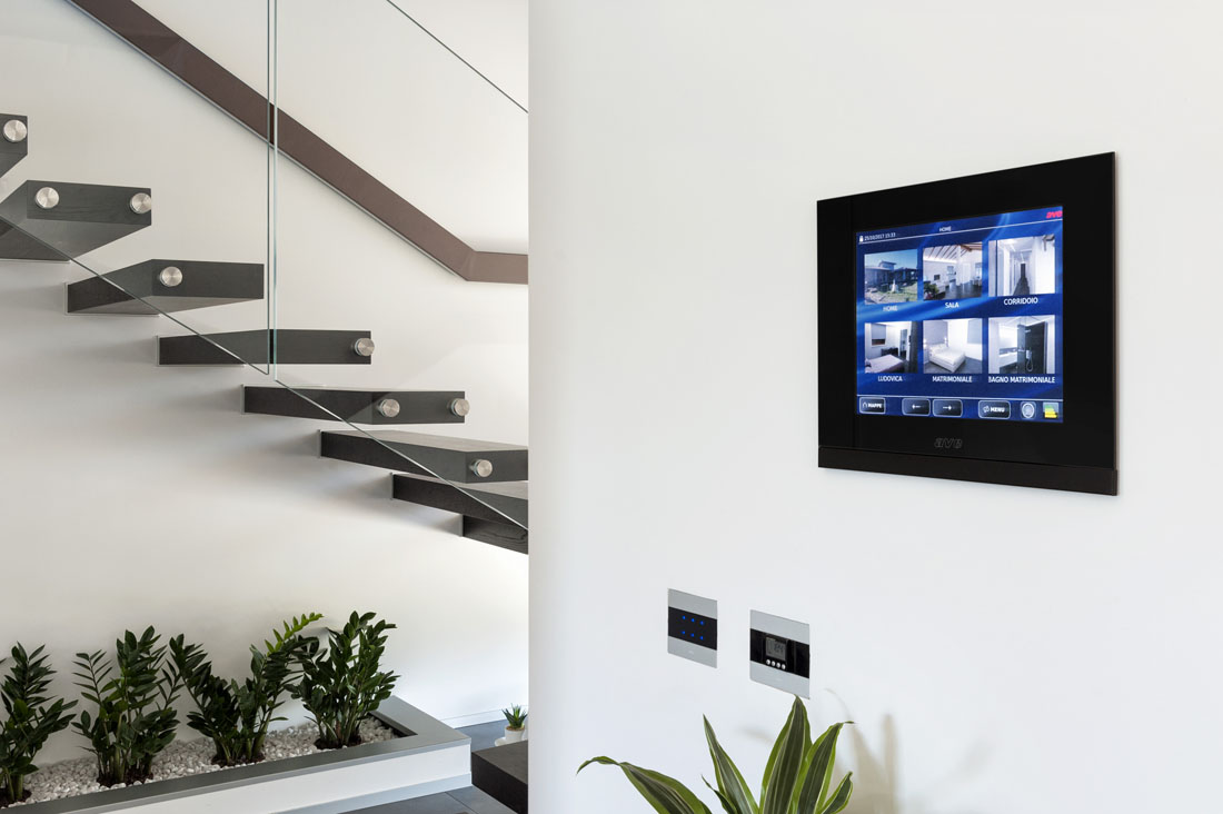 Supervisore domotico Touch Screen AVE