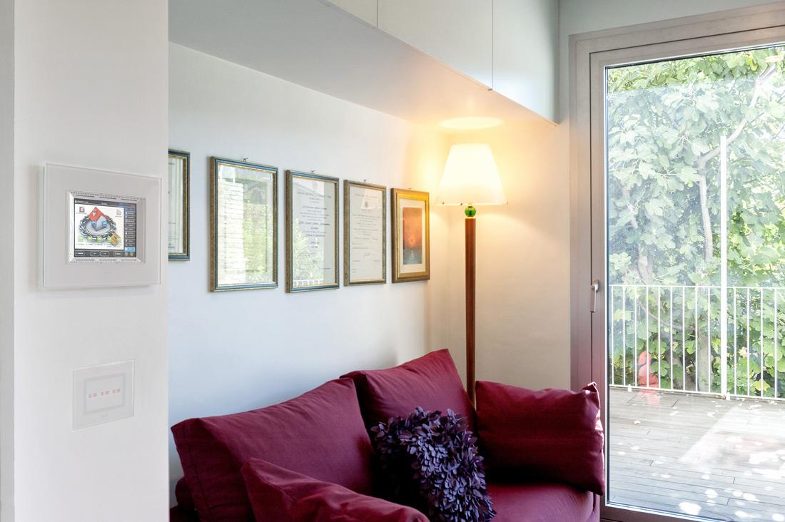 Touch Screen domotica AVE per abitazione Francavilla al Mare (CH)