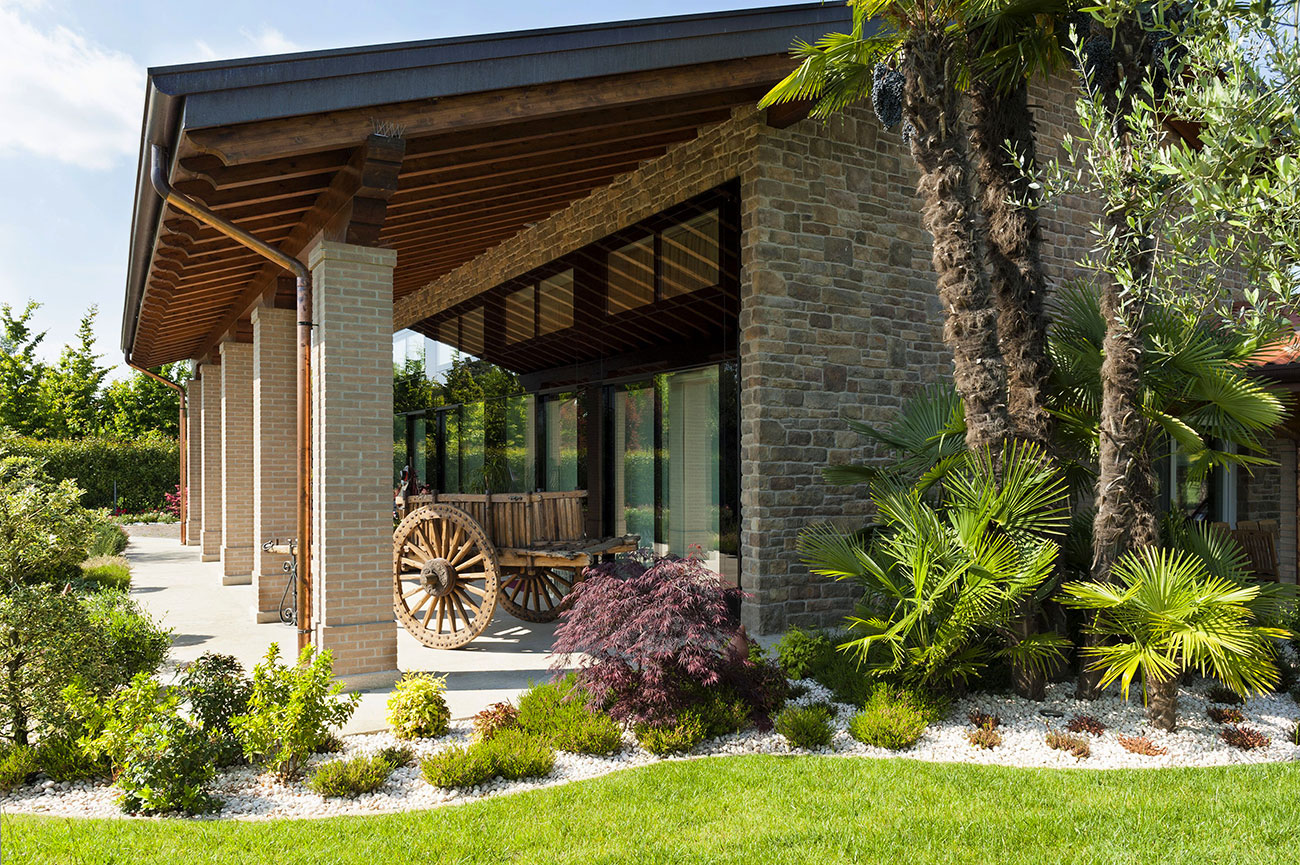 Villa con domotica AVE - Vista esterno