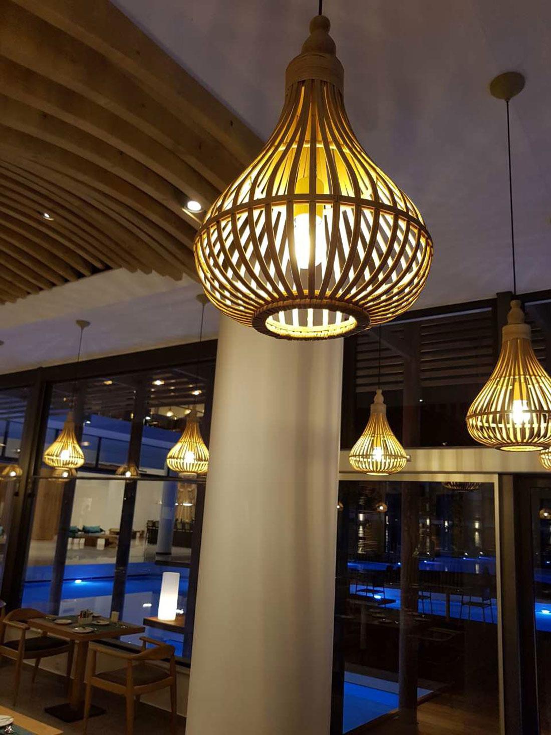 Vista interna referenza AVE Hotel in Grecia