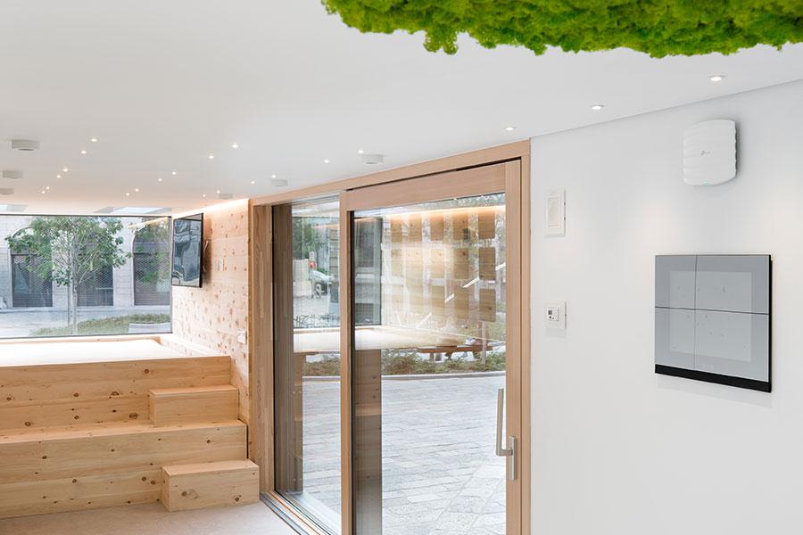 Progetto Green casa classe A - funzioni risparmio energetico