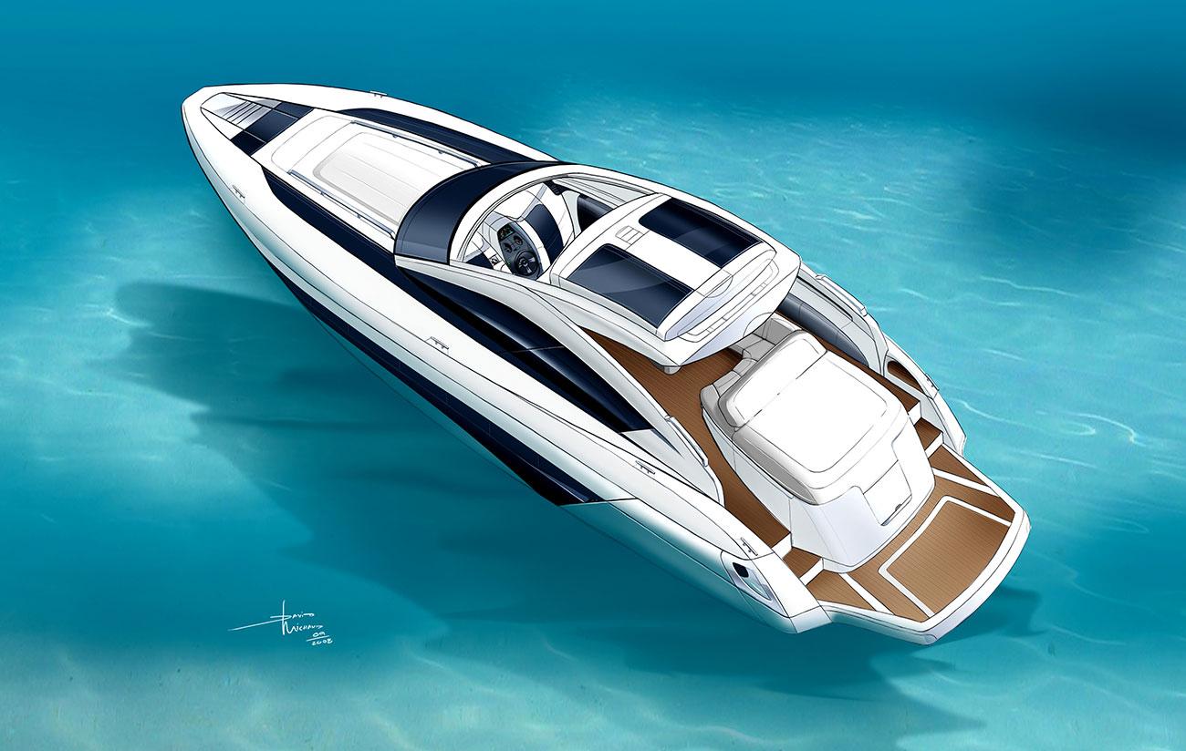 AVE Yatch Azzurra design
