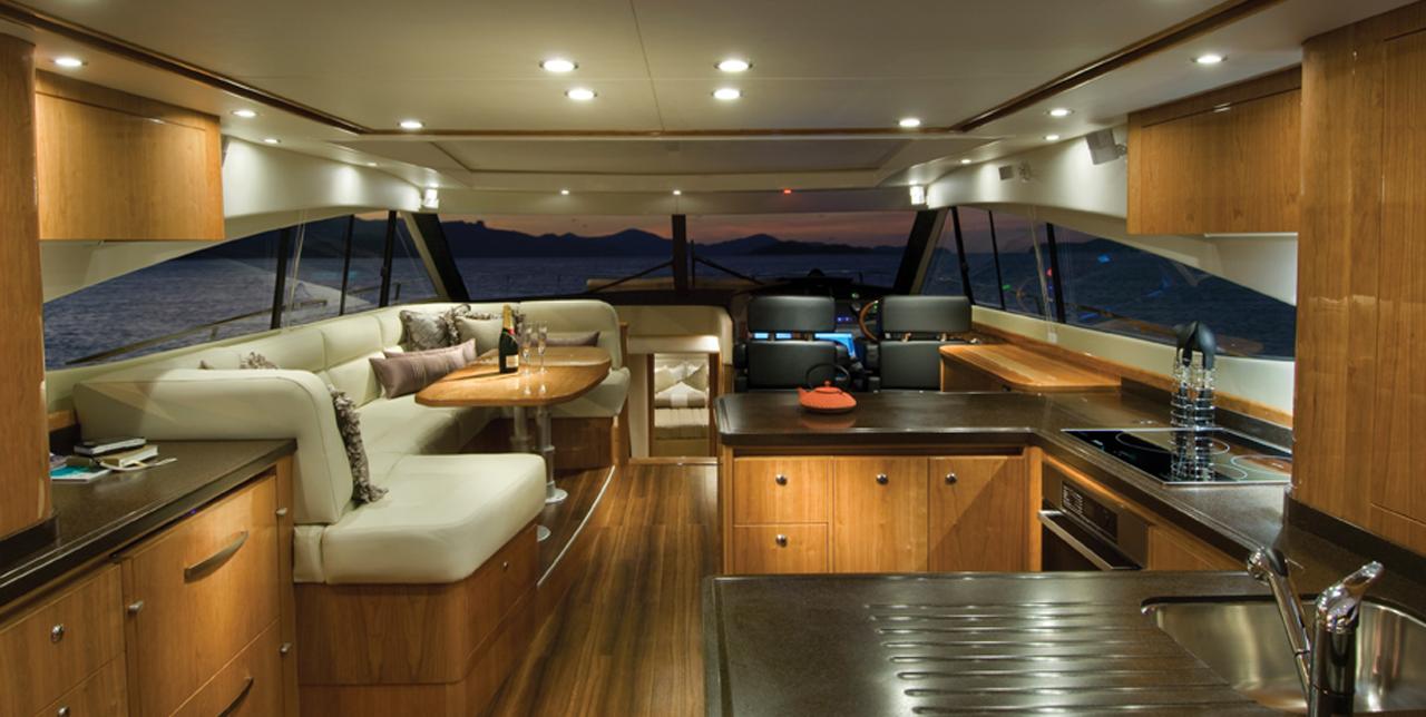 Referenza AVE Yacht - Interni
