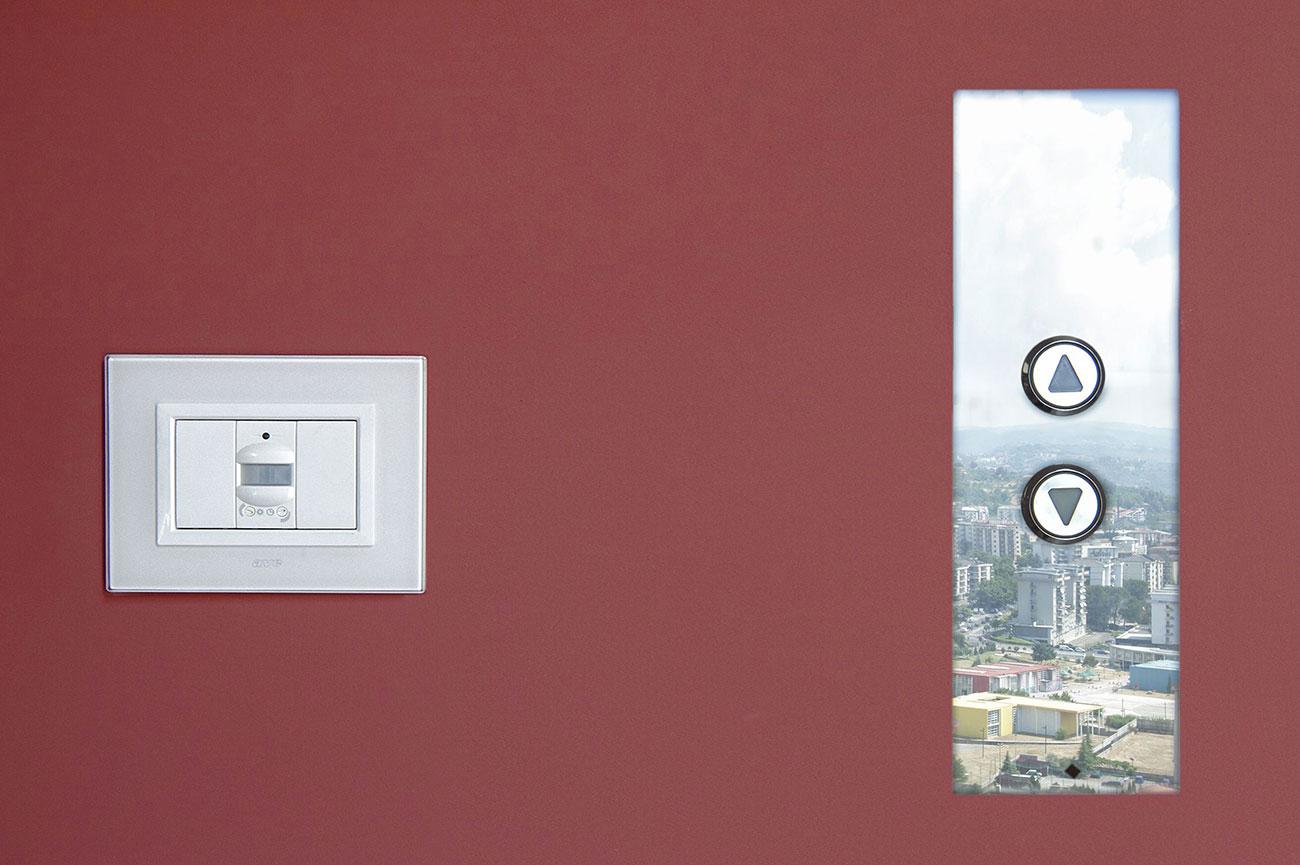 Sensore AVE alla Torre Skyline di Cosenza