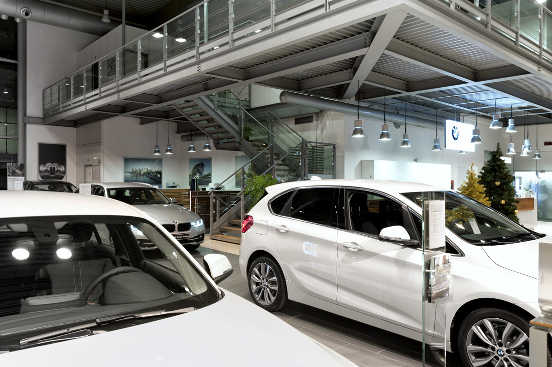 AVE Fire Detection System for Car Dealer