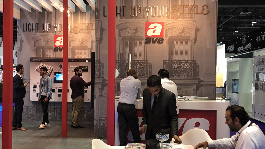 AVE hospitality solutions at The Hotel Show Dubai