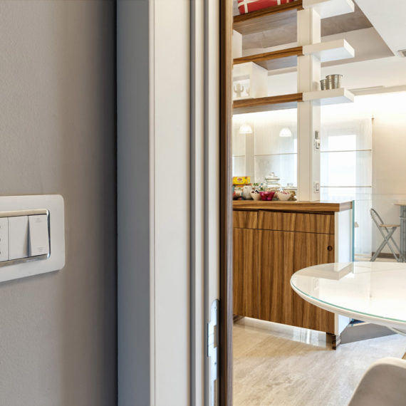 AVE switches in white colour for B&B