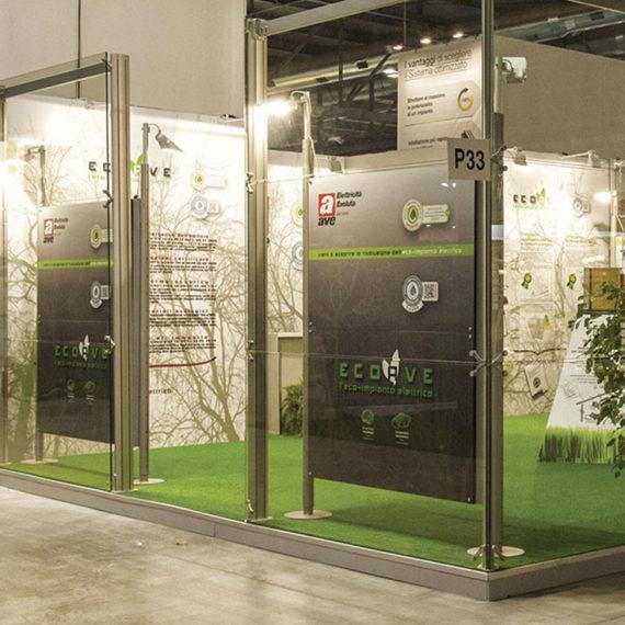 Eco impianto elettrico AVE - MADE EXPO 2013