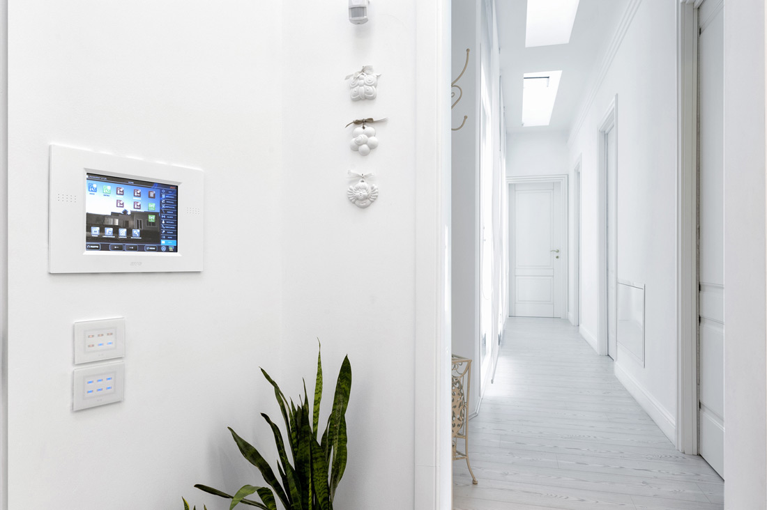 Home automation touch screen and touch switches