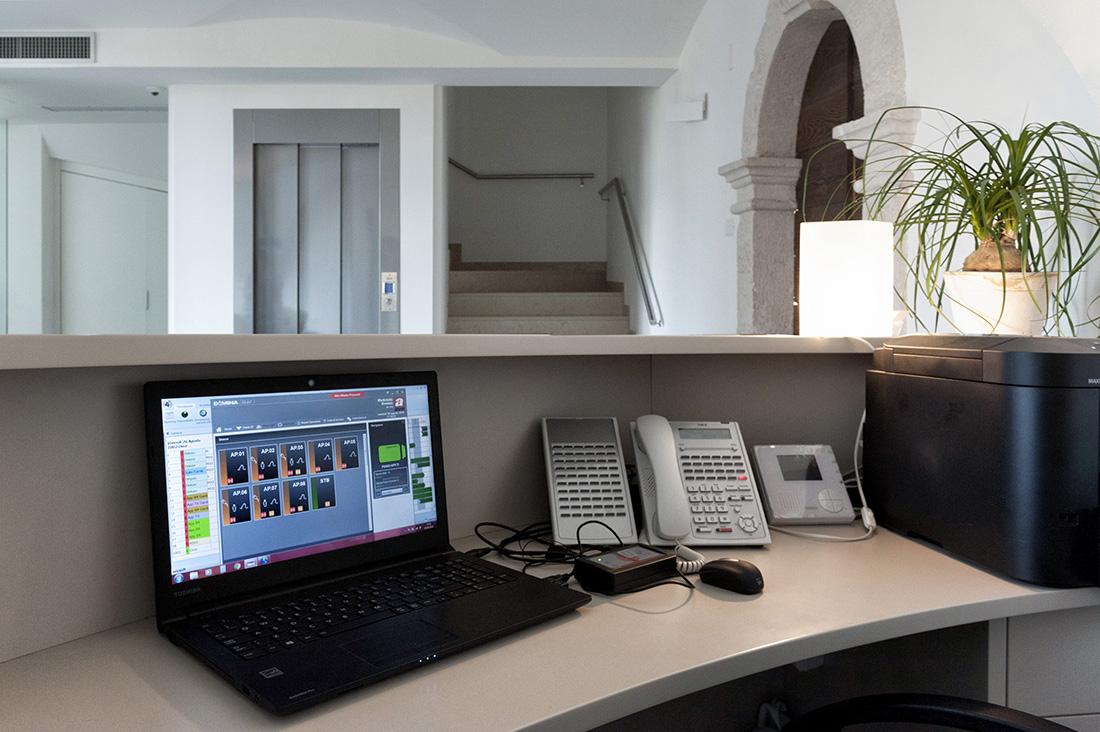 Hotel management system for automation control