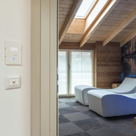 Lettore per accesso area spa
