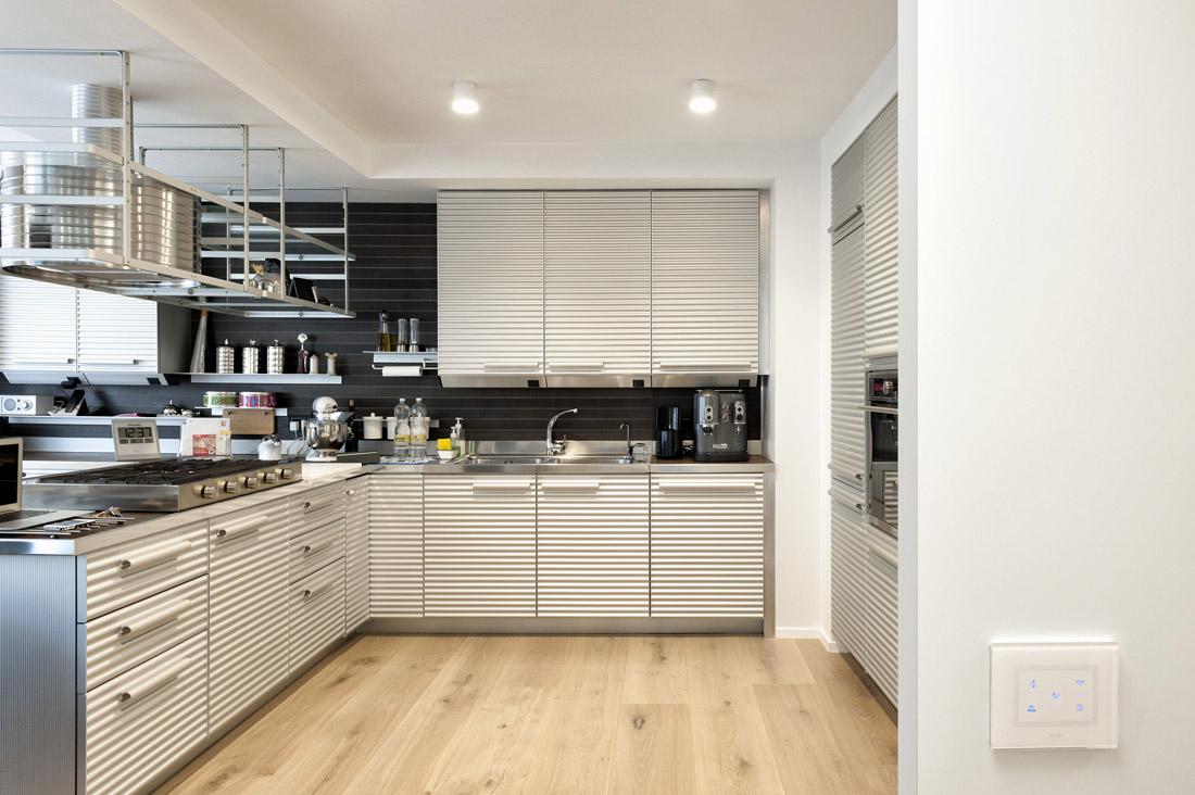 Multi-Touch inserito in cucina