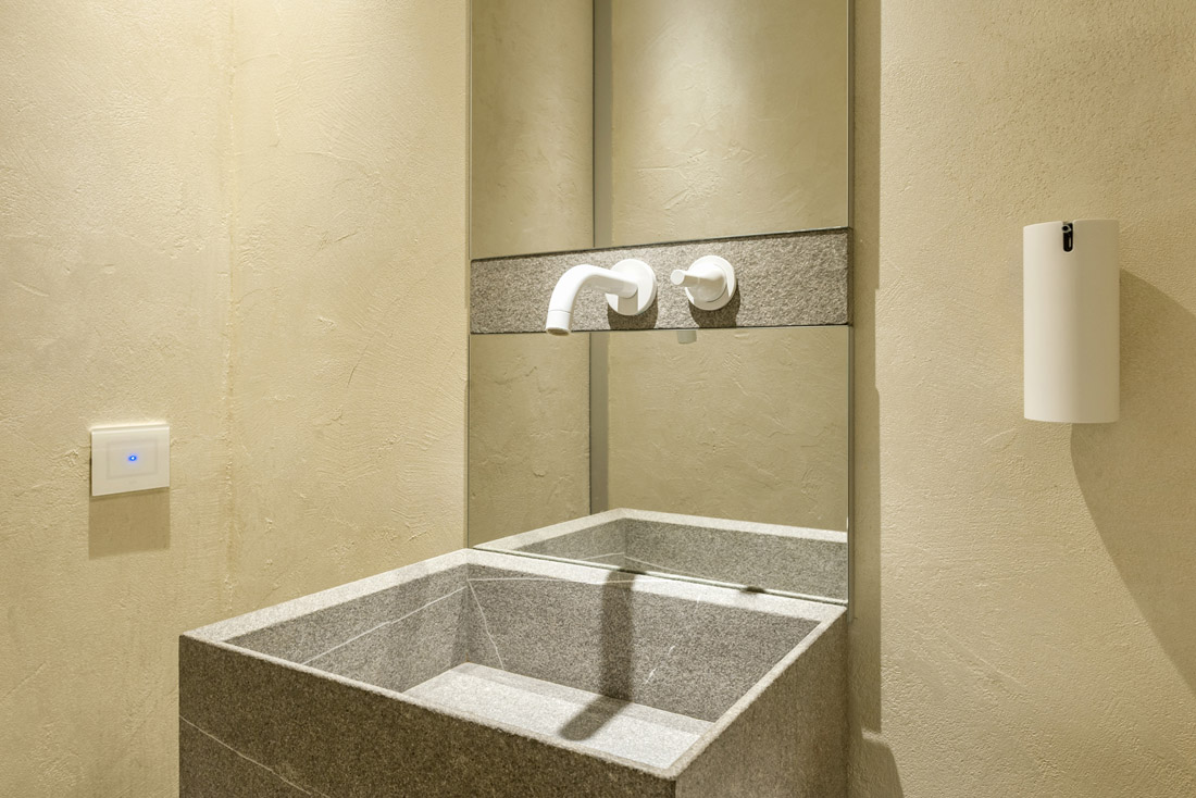 Punto luce touch - Bagno