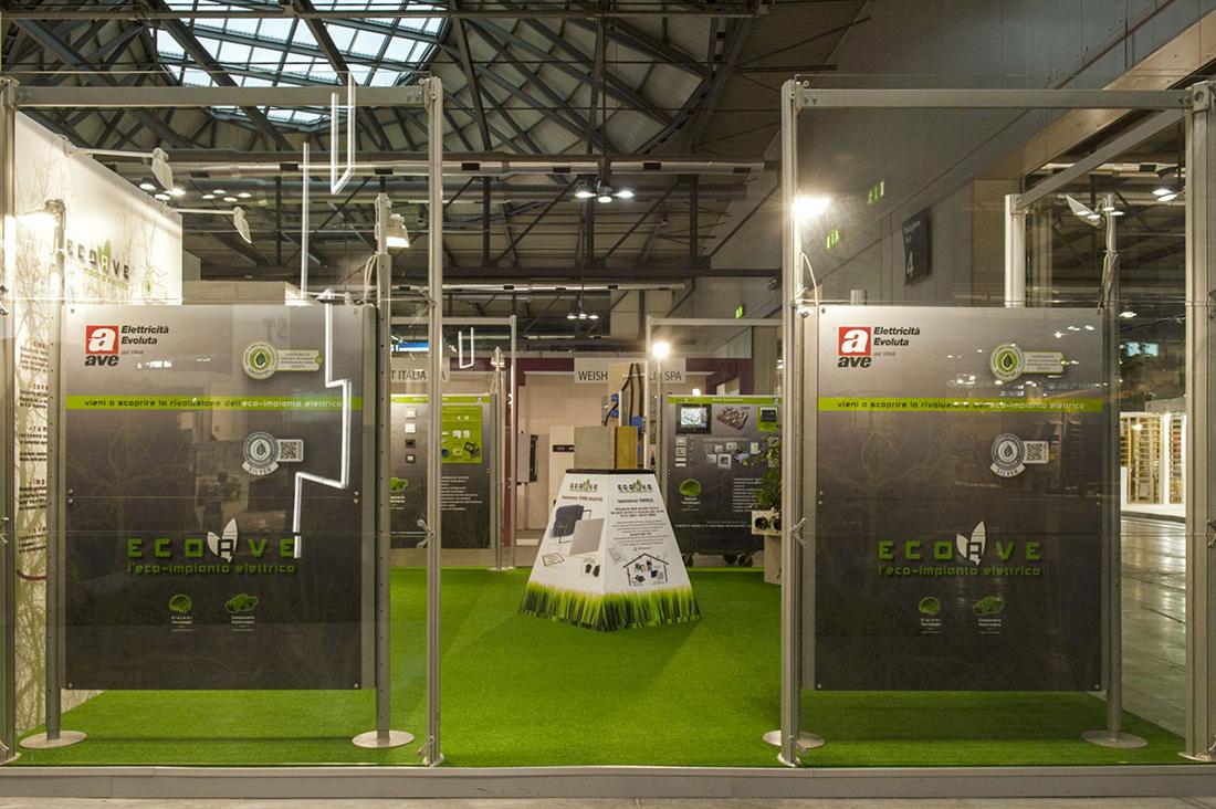 Stand AVE Eco impianto elettrico