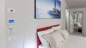 AVE building automation innovates hospitality: mini Touch Screens enter StraVagante Hostel's rooms