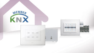 AVE home automation certified KNX: design and technology are exalted