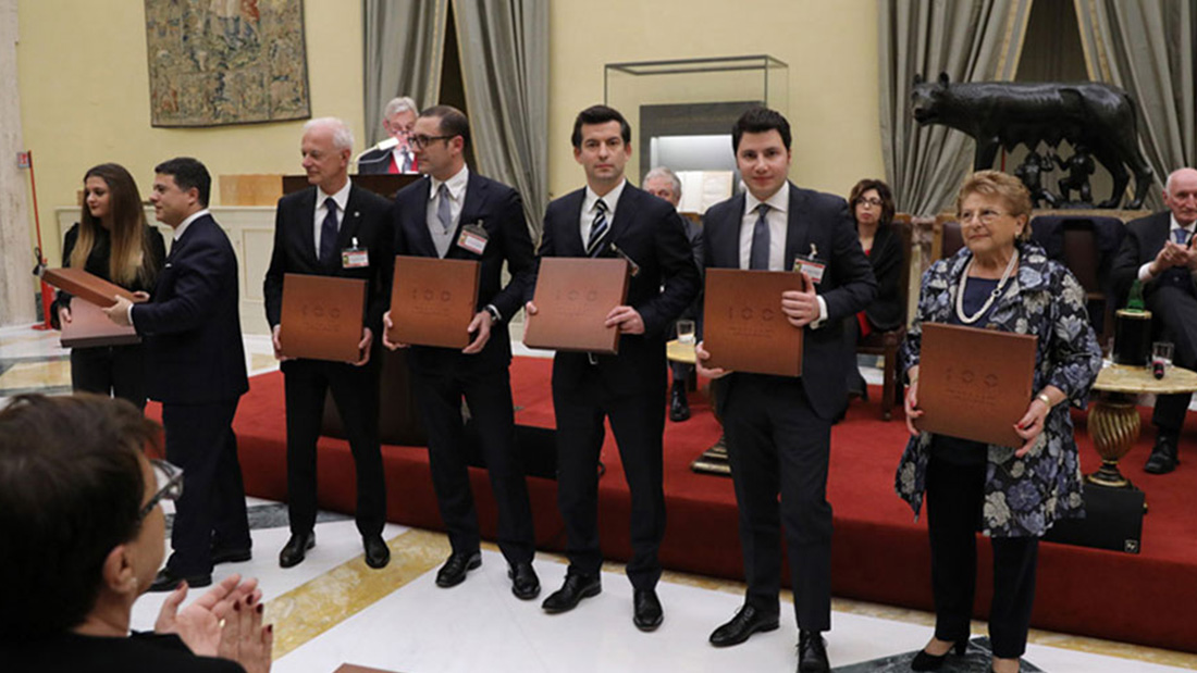 Ave is included among 100 Italian excellences