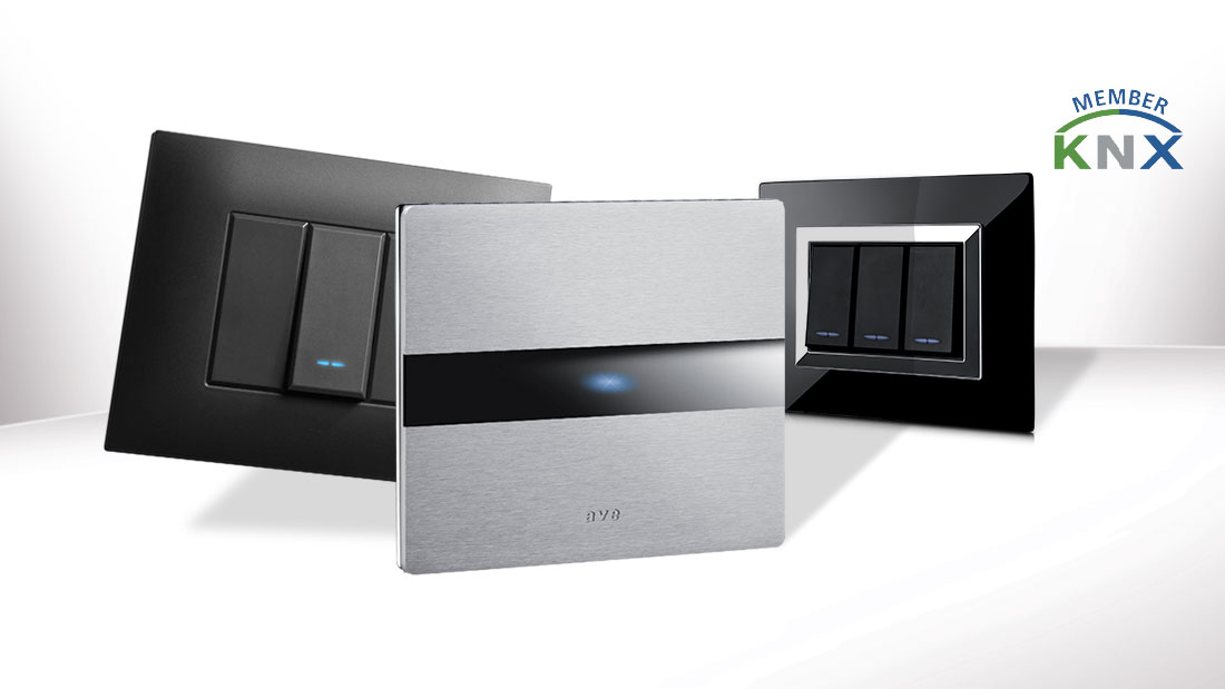 Home automation: AVE system 44 design in KNX technology