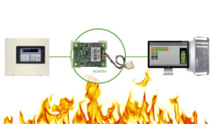 New interface for the hotel automation system domina hotel with the automatic fire detection system