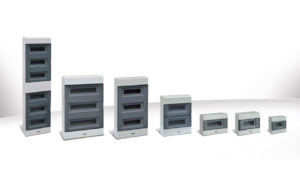 New range of wall mounted IP40 distribution boards