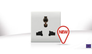New universal multistandard socket: flexibility and design for the electrical system