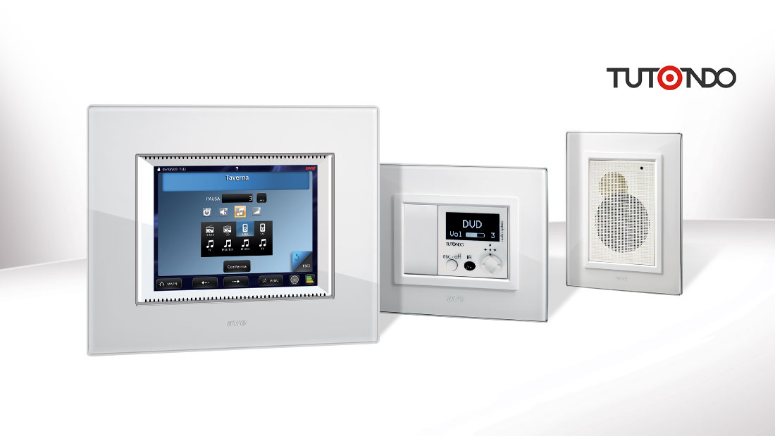 Sound diffusion: with AVE home automation and TUTONDO system music becomes smart
