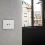 Toggle switches with aluminium front plate