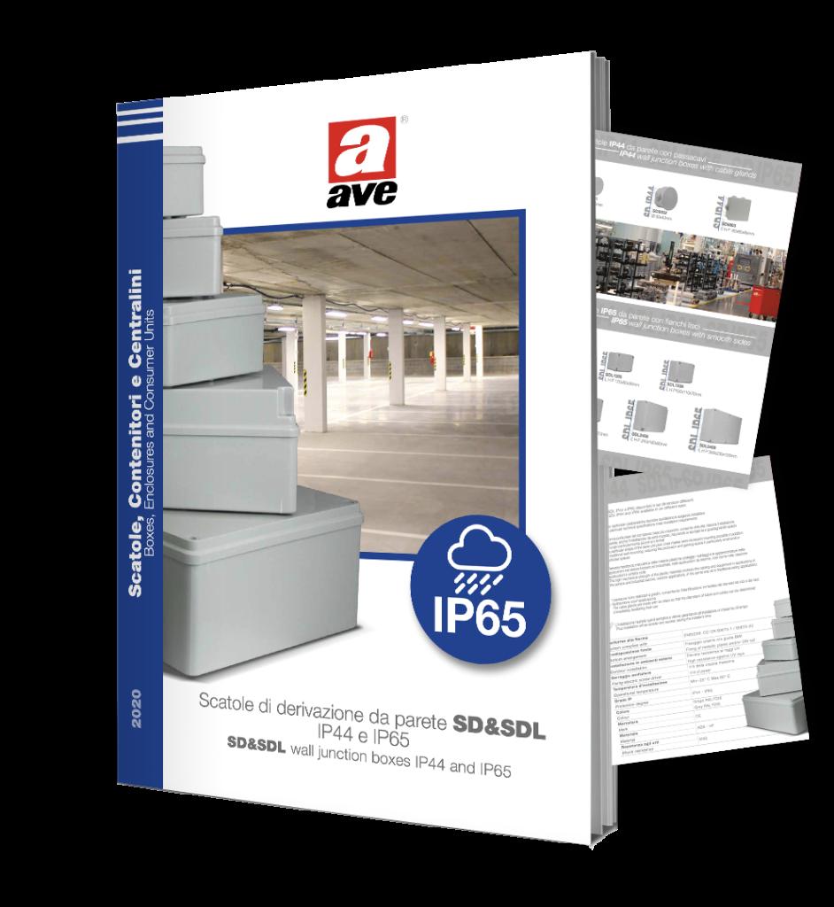 Dépliant scatole di derivazione SD & SDL IP44 e IP65