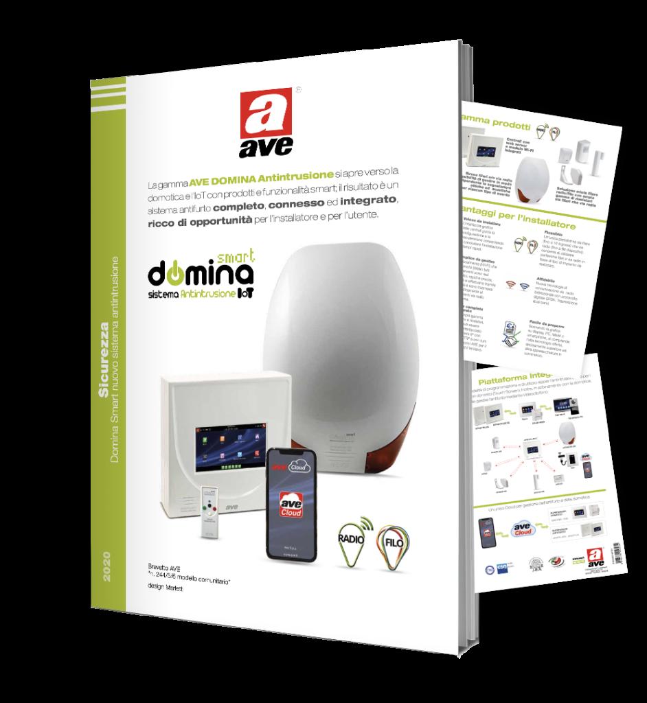 Dépliant DOMINA Smart Antintrusione