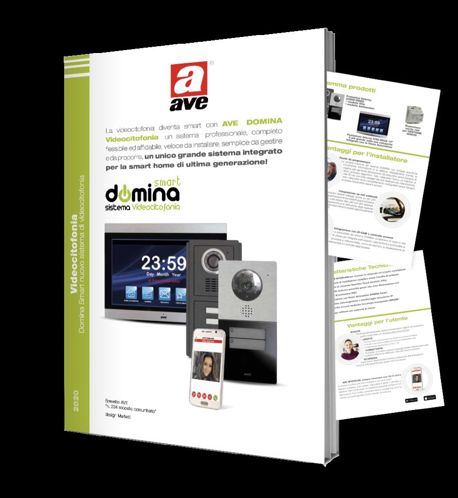 Dépliant DOMINA Smart Videocitofonia