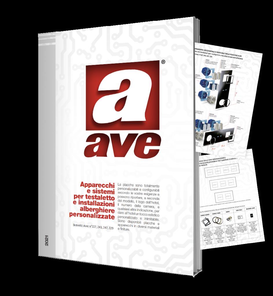 AVE Depliant Sistemi testaletto per installazioni alberghiere