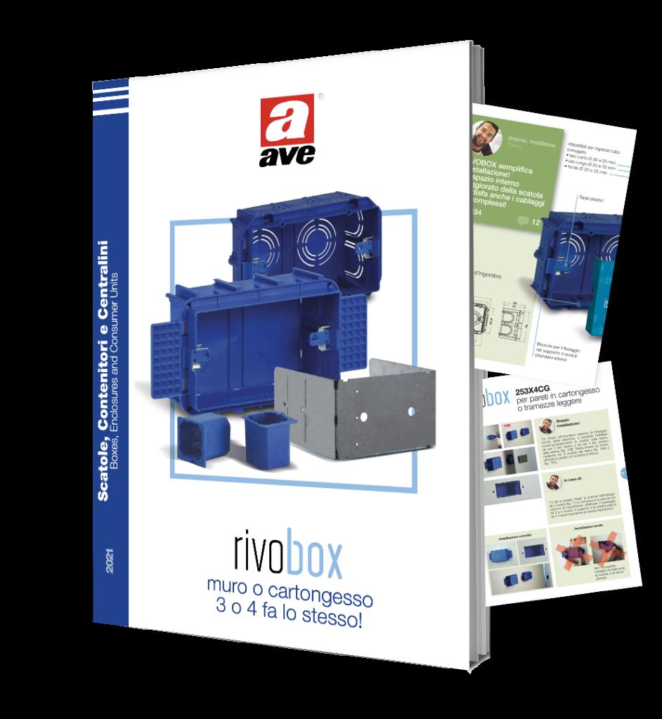 Brochure scatole da incasso RIVOBOX