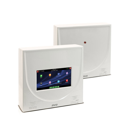 Wireless burglar alarm control units