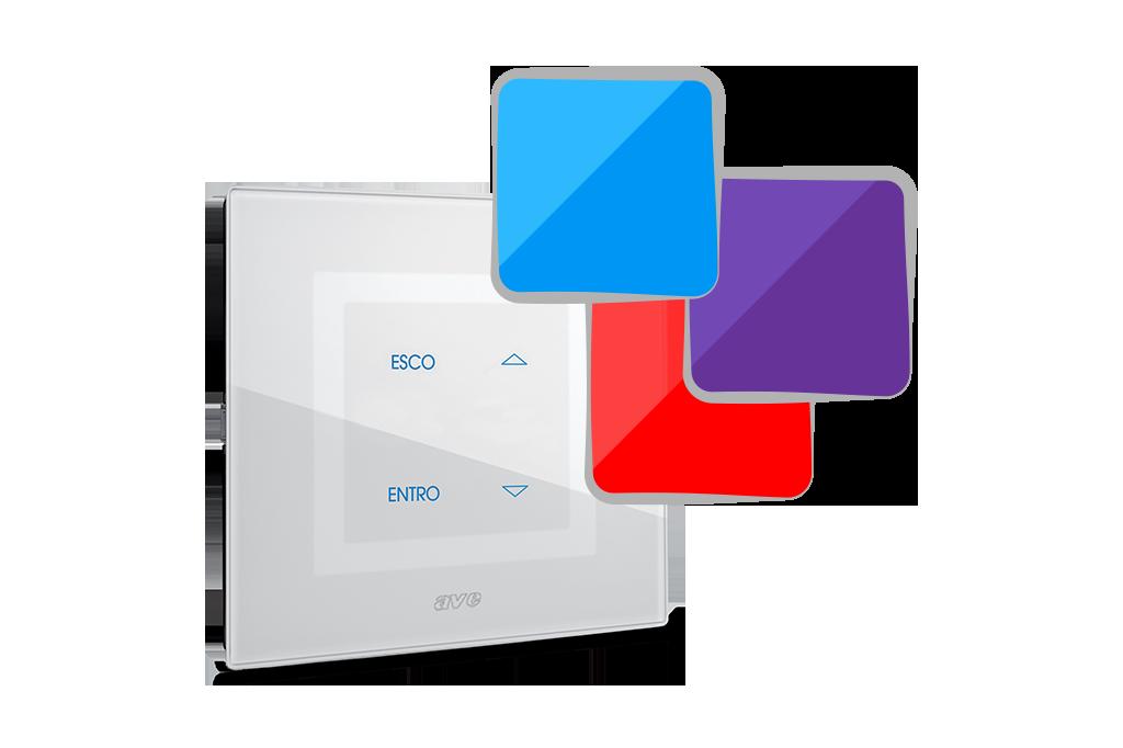 Design esclusivo con LED multi-colore