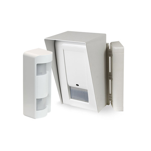 Perimeter radio outdoor detectors