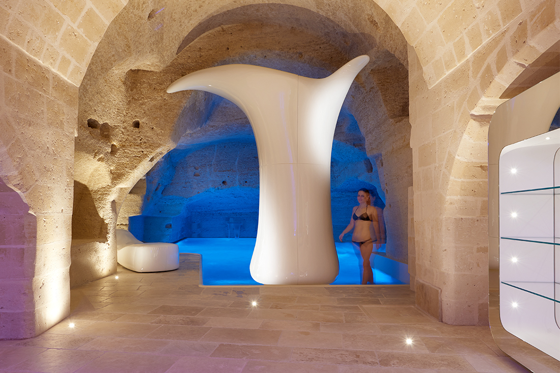 AVE hotel management system at the Aquatio Cave Luxury Hotel & SPA of Matera - Photo Credits: Juergen Eheim