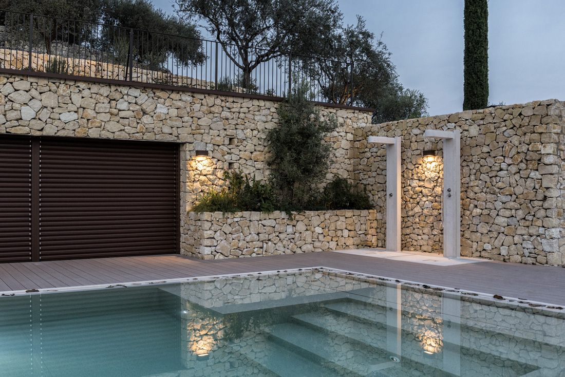 Home automation management of lights and pool cover - San Pietro in Cariano (VR)