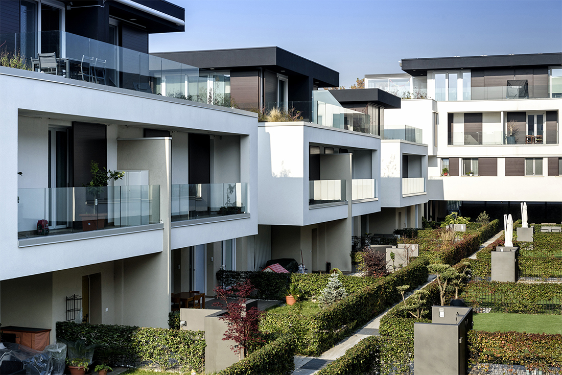 Self-sufficient and 100% green smart homes - Residenze dell'Olimpo (MI)
