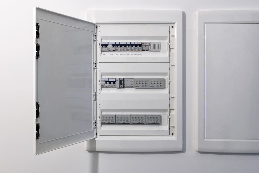 Quadro elettrico per modulari domotica AVE