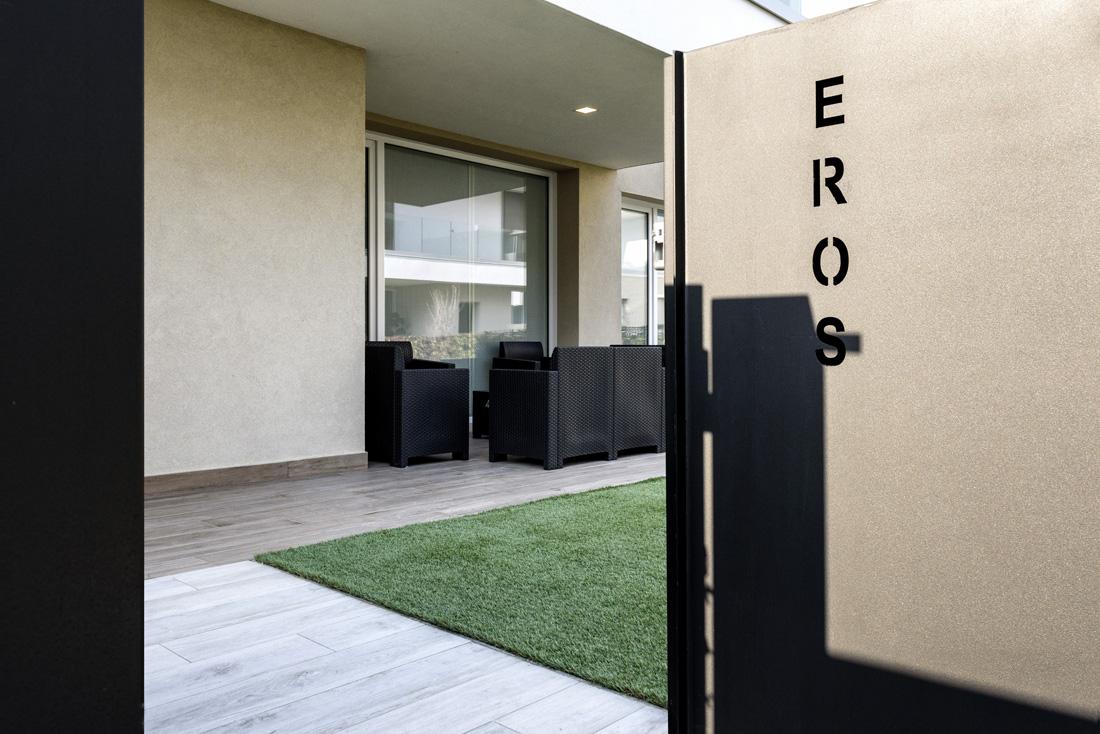 Smart home AVE – Ingresso Residenze dell'Olimpo